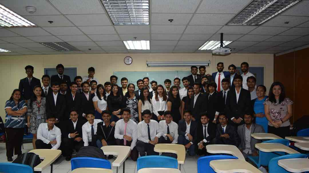 Indian students at AMA School of Medicine, Philippines including students sent by Global Medical Foundation.