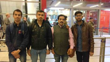 Students sent by Global Medical Foundation for MBBS in abroad with Pradeep Jayaswal.