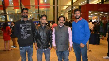 Students from Rajasthan & Haryana sent by Global Medical Foundation for MBBS in abroad with Pradeep Jayaswal.