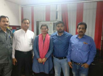 Students from Alwar, Rajasthan sent by Global Medical Foundation for MBBS in abroad with Pradeep Jayaswal.