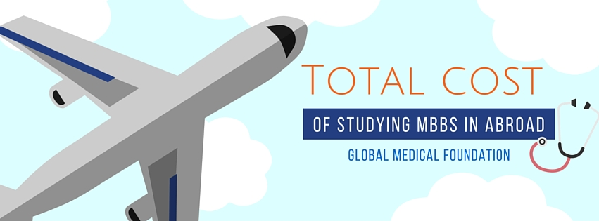 Total cost of MBBS in abroad