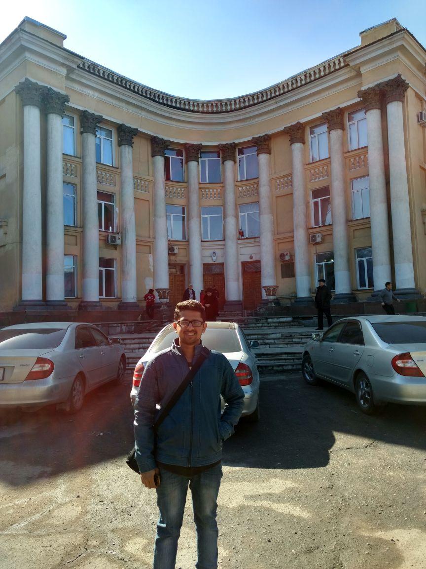 Study russian in bishkek map