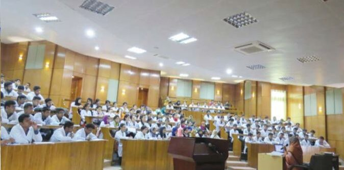 enam medical college lecture hall
