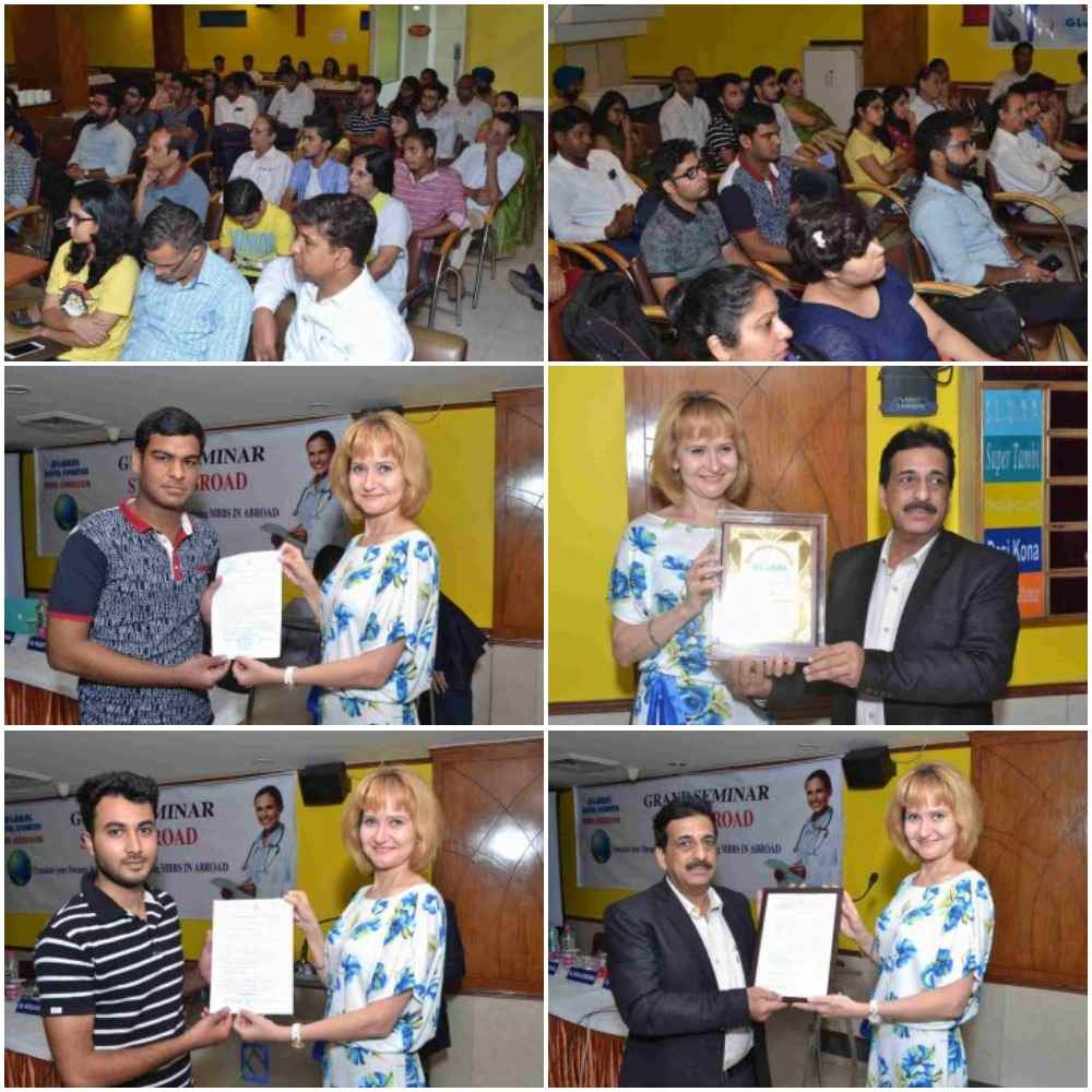 MBBS in Ukraine seminar by Global Medical Foundation in 2018.