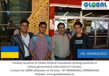 Students sent to various universities including Bogomolets National Medical University & Vinnitsa National Medical University.