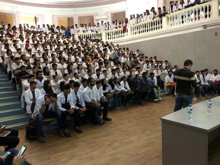 MCI Screening Test Coaching at Vinnitsa National Medical University.