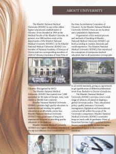 kharkiv national medical university prospectus