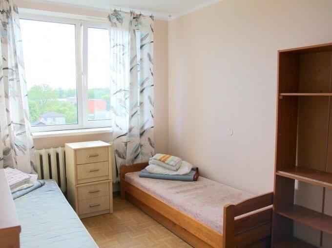 Hostel room of Bukovinian State Medical University.