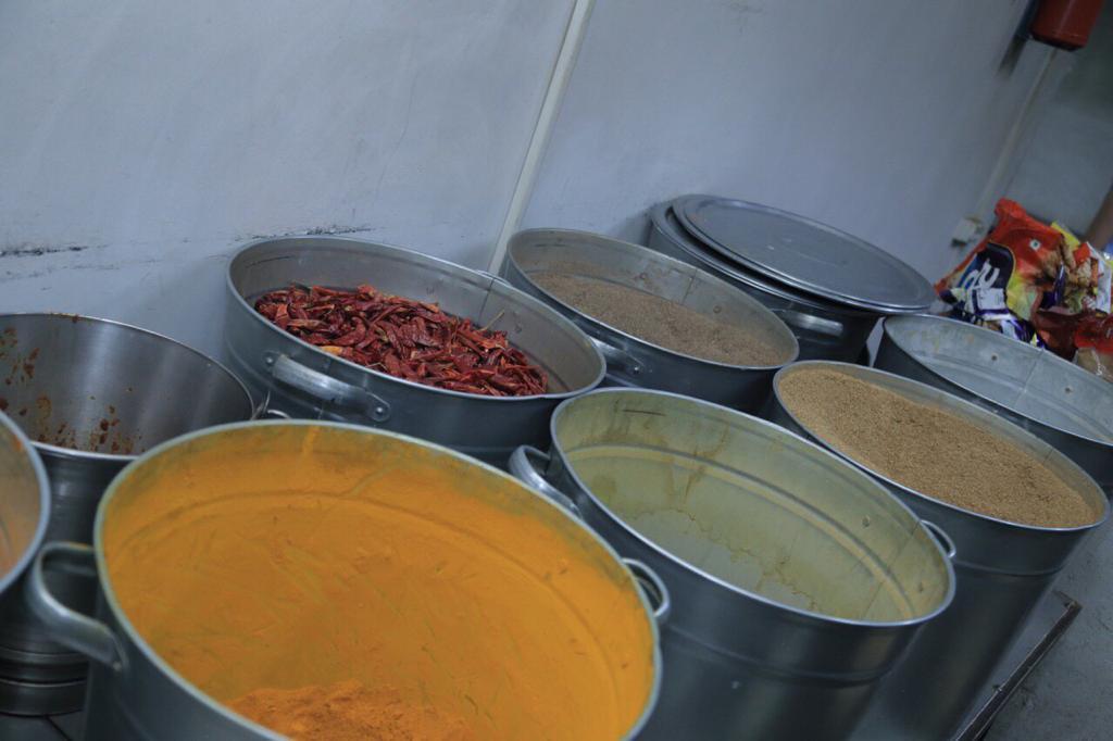 Food at Kyrgyz State Medical Academy hostel