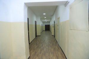 Inside Kyrgyz State Medical Academy hostel