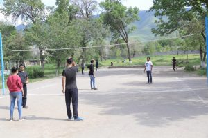 Sports at Kyrgyz State Medical Academy hostel