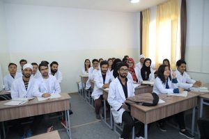 Kyrgyz State Medical Academy Indian students
