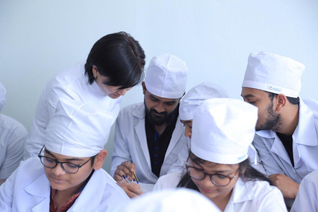 Kyrgyz State Medical Academy class room