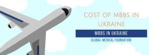 Cost of MBBS in Ukraine.