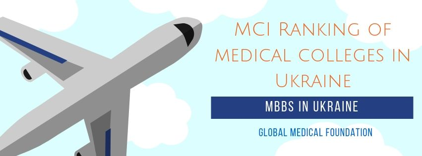MCI Ranking of medical colleges in Ukraine