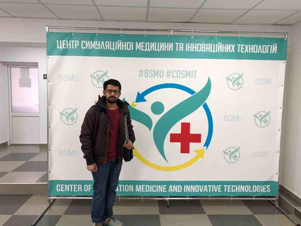 Shobhit Jayaswal at the Center of Simulation Medicine and Innovation Technologies