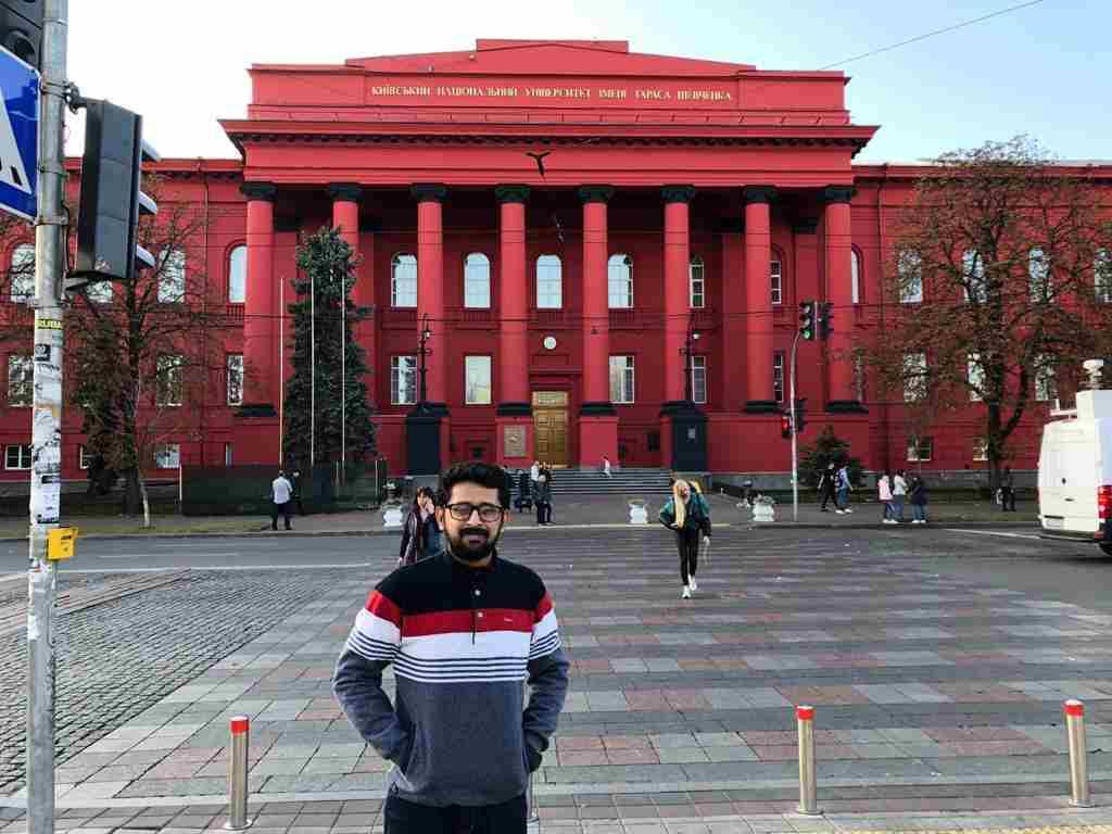 Shobhit Jayaswal at Taras Shevchenko National University of Kyiv