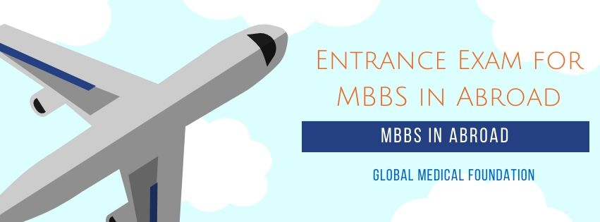 Entrance Exam for MBBS in Abroad