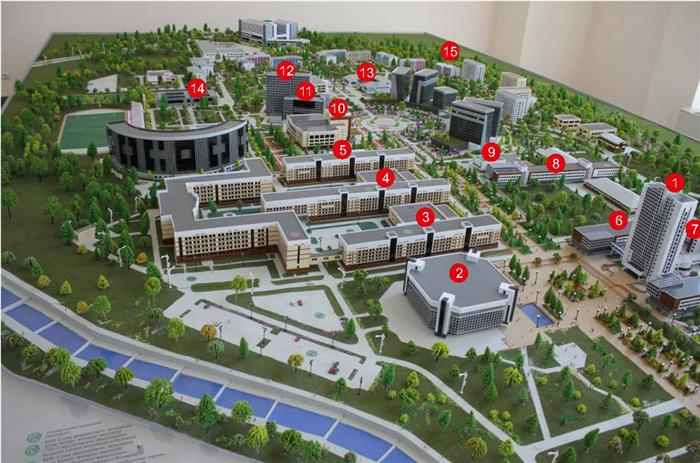 Al-Farabi Kazakh National University campus