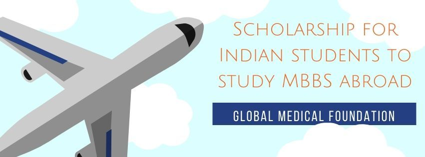 An image showing scholarship for Indian students to study MBBS abroad