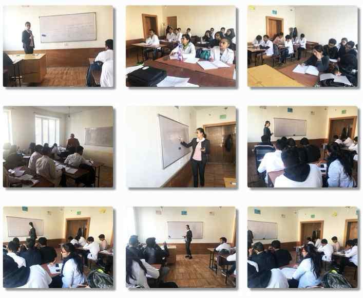 Classroom at Mkhitar Gosh Armenian-Russian International University
