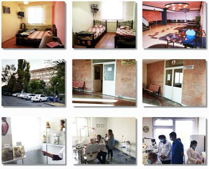 Hostel, lab at Mkhitar Gosh Armenian-Russian International University